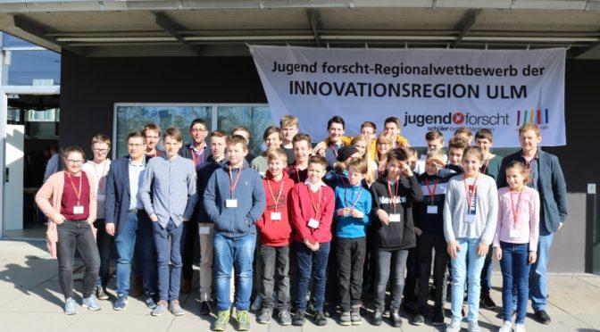 Wieder grandioser Erfolg bei Jugend forscht